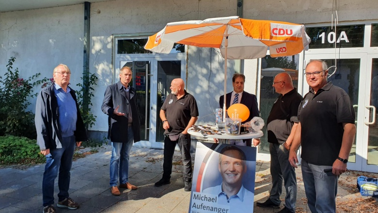 Wahlstand in Vellmar